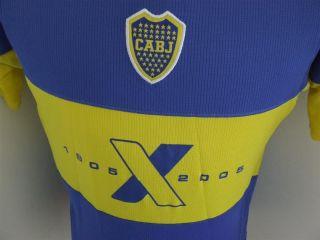 Original Trikot Boca Juniors 2005 (L) Centenary Shirt Camiseta Maglia
