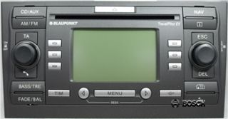 Radio Navigation Blaupunkt FORD Mondeo TPEX MP3 mit CD 5S7T 18K931 BD