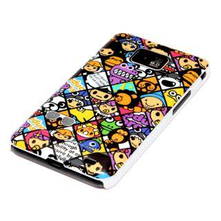 Samsung Galaxy S2 Hülle Hard Case Cover Tasche Bumper Schutzhülle