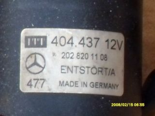 Mercedes Benz C Klasse W202 Wischermotor vorne. 202 820 11 08 EZ99