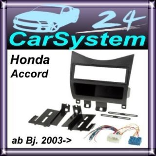 Honda Accord ab 2003  Radioblende Radio Rahmen #8 /961