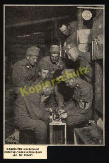 Foto Kaiserjäger Dolomitenfront Tirol Korporal Rudolf Spielmann