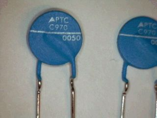 PTC Thermistor Overcurrent Protection EPCOS C970 C120 63V 9R4 120°C