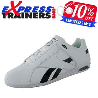 Reebok Mens Classic Sebano Leather Low Profile Racer Trainers