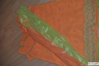 Sari, Kleid, Bollywood Saree,Salwar Kameez, Abendkleid, Karneval
