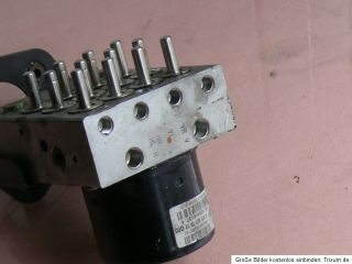 MERCEDES BENZ SLK R170 ABS Hydraulikblock Hydraulikeinheit A