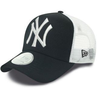 New Era Clean NY Yankees Trucker Cap Navy Größe Verstellbar Versand