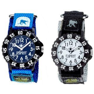 ESPRIT Kinderuhr armbanduhr kinder Jungen Uhr Safari Trip UVP €50
