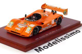 43 True Scale Porsche 966 #66 Miami 1991 Jägermeister