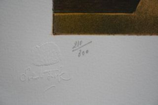 Salvador Dali  LITHOGRAFIE , handsigniert + nummeriert 210/300