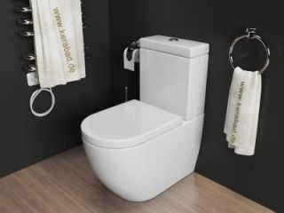 toilette wc sitz sp lkasten bad antik alt barock gruen. Black Bedroom Furniture Sets. Home Design Ideas