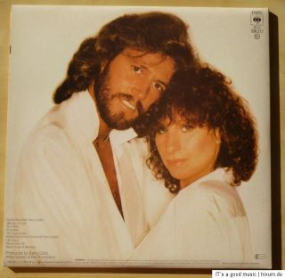 LP BARBRA STREISAND & BARRY GIBB Guilty 1980 UK CBS GTF OIS ORIGINAL