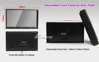 Erisin 2 DIN Navi DVD Autoradio & Navigation DVB T USB SD Bluetooth