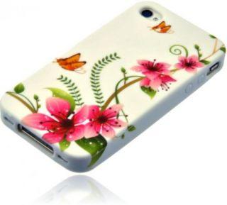 Silikon Case Handy Tasche für Apple iPhone 4 / 4S Schutz Hülle Case