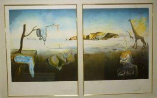 Salvador Dali  2 handsignierte und nummerierte Farblithografien