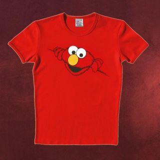 Sesamstraße Sesame Street   Elmo Marken Retro T Shirt zur Serie, sehr