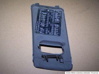 Nissan Micra K11 998 ccm 40 Kw 2125 +317 Deckel Sicherungskasten
