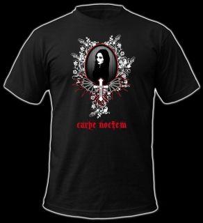 Longtime Gothic T Shirt   Carpe Noctem