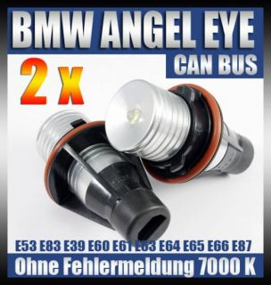 BMW Angel Eyes E39 E60 E53 E87 E65 LED Standlicht Xenon