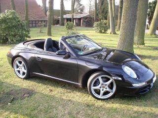 Porsche 911 Carrera Cabrio schwarz 997 Bj. 2005 Sommerfahrzeug 33.000