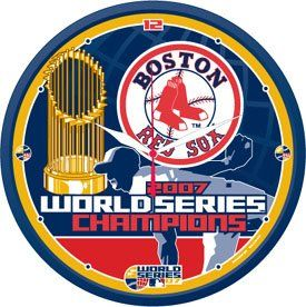 BOSTON RED SOX 2007 WORLD SERIES CHAMPS Logo 12 WALL