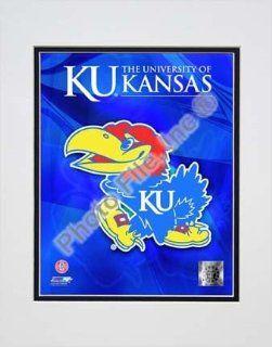 University of Kansas Jayhawks 2009 Logo Double Matted 8