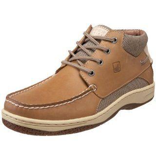 Top Sider Mens Billfish Chukka Boat Shoe,Linen/Oat,11.5 M US Shoes