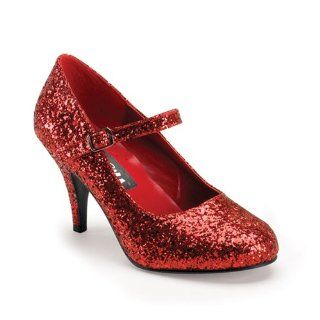 High Heel Womens Ruby Slippers Shoes