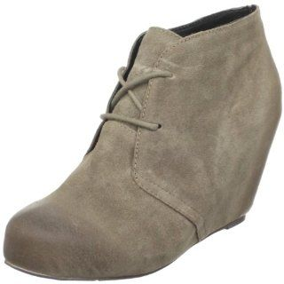 DV By Dolce Vita Womens Pascal Ankle Boot,Taupe Suede,7 M US Shoes