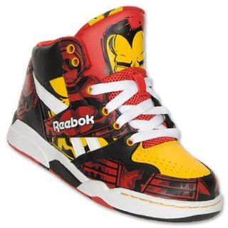 Boys Preschool Iron Man High Top Shoes, Red/Black/Yellow Shoes