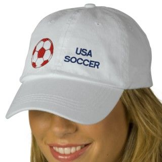 USA Soccer cap for Yanks futbol fans embroidered hats by SoccerJersey