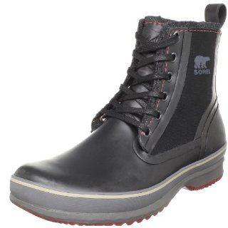 Sorel Mens Woodbine Canvas Boot Shoes