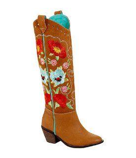 Grazie Howdy Tan 6 Ladies Shoes
