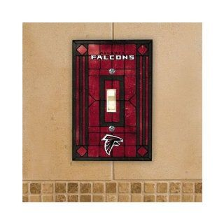 Atlanta Falcons   NFL Art Glass Single Switch Plate Cover