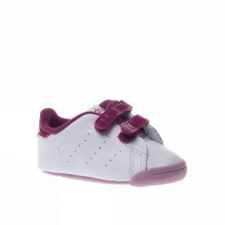Adidas Trainers Shoes Kids Adindoor Stansmith White Shoes