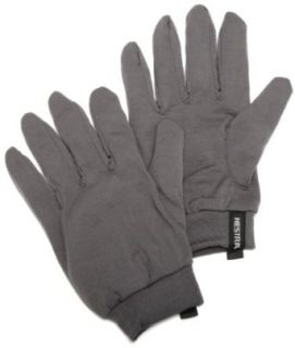 Hestra Merino Wool Liner Glove (Dark Grey, 6) Clothing