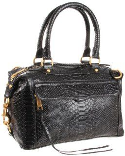 Rebecca Minkoff Mab Mini Black Shoulder Bag,Black,One Size: Shoes