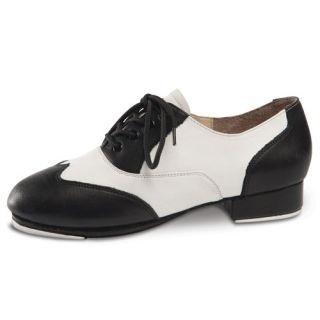 Black White Saddle Style Tap Dance Shoes Size 3 11 Danshuz Shoes