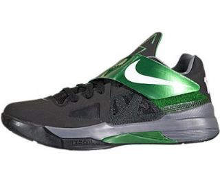 Zoom KD IV (Kevin Durant)   Black / White Pine Green, 13 D US: Shoes