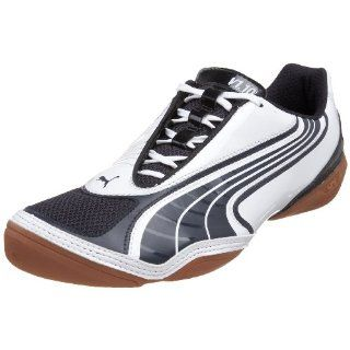 PUMA v1.10 Sala (STA) Soccer Shoe,White/New Navy,14 D Shoes