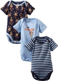 Gerber Baby Boys Newborn 3 Pack Just Hanging Bodysuit