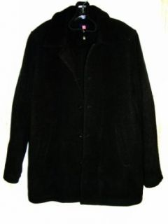 MENS CHAPS WINTER CAR COAT SIZE M (BLACK) Clothing