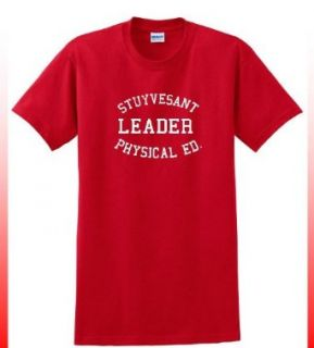 STUYVESANT LEADER PHYSICAL EDUCATION RED T SHIRT: Clothing