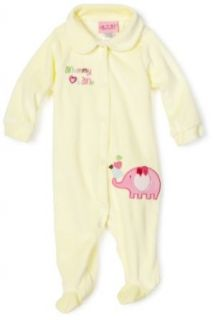 Carters Baby Girls Newborn Mommy Loves Me Velour Coverall