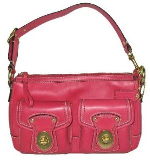 AUTHENTIC Coach Legacy Leather Shoulder Bag (Raspberry