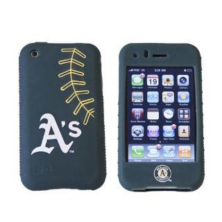 MLB Oakland AS Cashmere Silicone Iphone Case Sports
