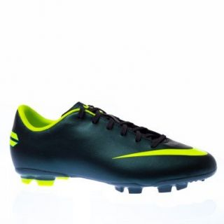 Boys Nike JR Mercurial Victory III Soccer Cleats Seaweed/Volt Shoes