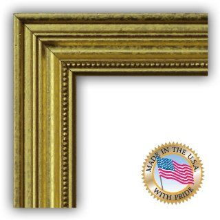 11x17 / 11 x 17 Picture Frame Gold Foil on Pine  1.25