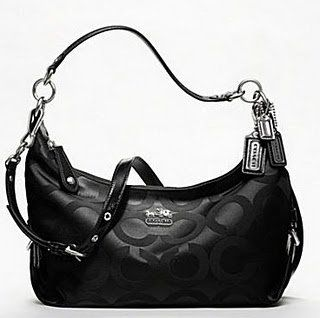 Coach Madison Op Art Sateen Hailey 18801M (SV/Black) Shoes