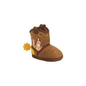 Disney Toy Story Woody Bootie Slippers Toddler Small 5 6 Shoes